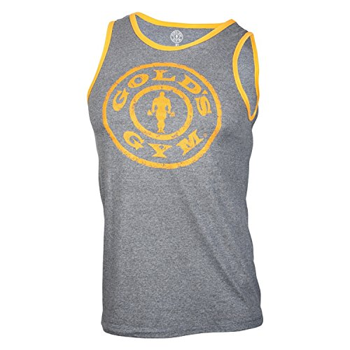 Golds Gym Muscle Joe Contrast Athlete Tank Top
