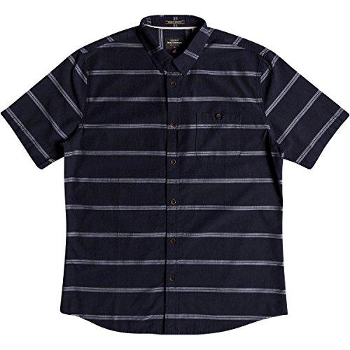 Quiksilver Männer Lastdawn Woven Shirt, XX-Large, Parisian Night (Herren Woven Shirt Quiksilver)