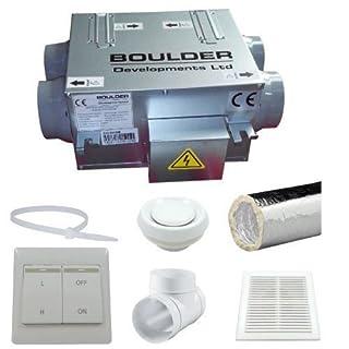 HRVU DHV-04/100B Heat Recovery Ventilation Full 5 Room System Condensation Control