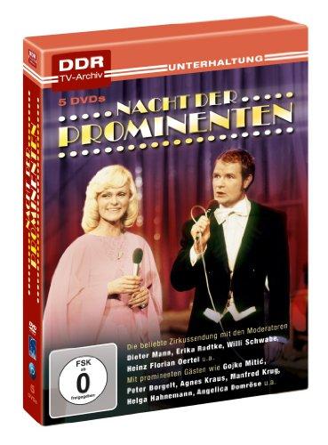 Nacht der Prominenten - DDR TV-Archiv (5 DVDs)
