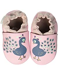 Robeez Lovely Peacock, Chaussons bébé Fille