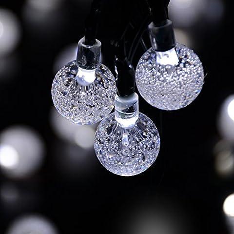 Dephen Solar Powered LED Christmas Lighting 8 Mode 19.7ft 30