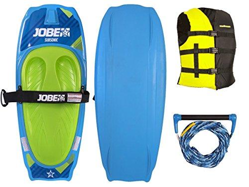 Jobe SUBSONIC Kneeboard Freestyle Package Board für Anfänger und Fortgeschrittene