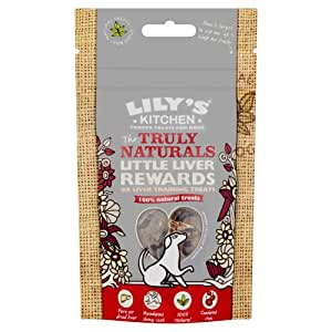 Lily's Kitchen The Truly Naturals Little Liver Rewards for Dogs 40g