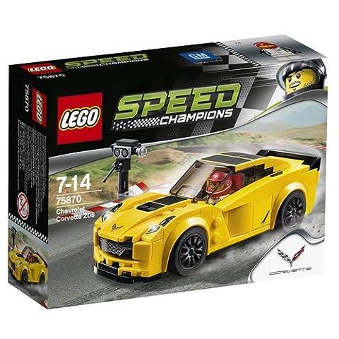 Lego - 75870 - Speed Champions - Chevrolet Corvette Z06