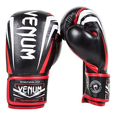 Venum Sharp Boxhandschuhe Schwarz/Rot, 10 oz