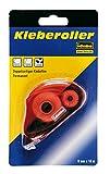 Idena 326147 - Kleberoller, 10 m x 8 mm, doppelseitiger Klebefilm, Farblich...