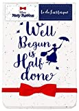 Disney: Mary Poppins - Well Begun to Do List (Taccuino) Half Moon Merchandising