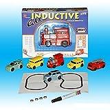 Jouets pour enfants Noël Cadeau Magic Mini Pen Véhicules à jouets inductifs Modèle de voiture Suivez toutes les lignes de dessin Toys For Children Gift