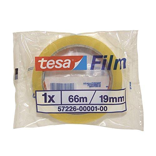 Tesa 57226-00001-00 - Cinta adhesiva estándar, transparente, 1 unidad