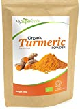 Organic Turmeric Powder | Certified Organic by the Soil Association | By MySuperfoods by MySuperFoods