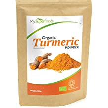 Organic Turmeric Powder | Certified Organic by the Soil Association | By MySuperfoods