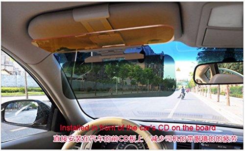 Preisvergleich Produktbild jdwg Auto Sonnenblende, Abblendschutz multifunktionsblende, Aktualisiert Auto HD Sun Vision Visier Tag und Nacht für LKW