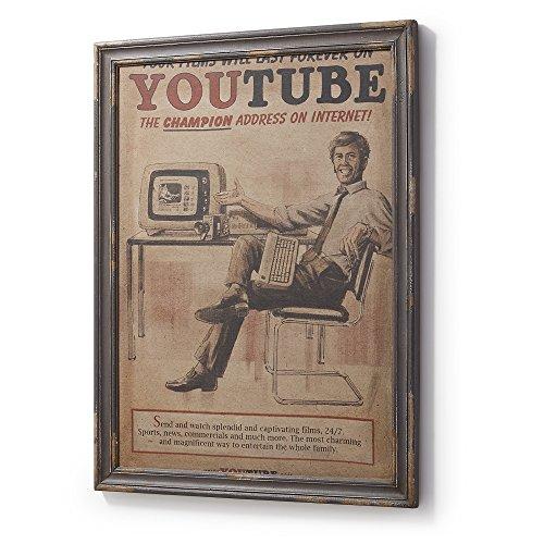 Kave Home Cuadro Molly Youtube 73 x 92 cm