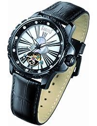 d21c6e2fd5 Arbutus - AR409BWB - Montre Femme - Automatique - Analogique - Bracelet  Cuir Noir