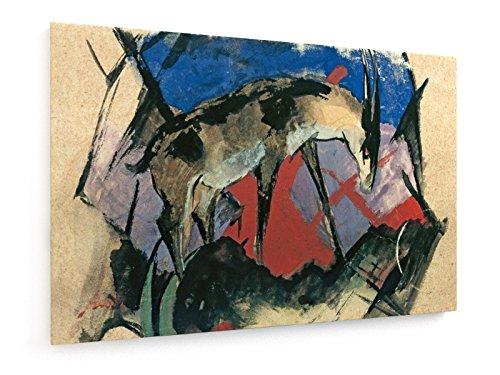 franz-marc-antilope-45x30-cm-weewado-impresiones-sobre-lienzo-muro-de-arte
