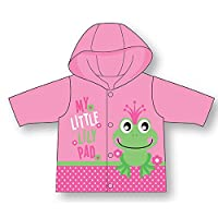 Pink Princess Frog - My Little Lilly Pad - Raincoat Sizes 2 To 6 Year