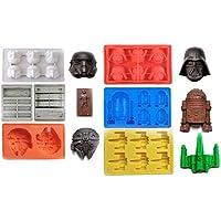 joyoldelf Diseño de la Guerra de Las Galaxias Estilo moldes de Silicona Bandeja  para Cubitos de 2c98923dc31