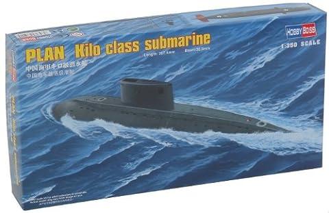 Hobbyboss 1:350 Scale PLAN Kilo Class Submarine Model Kit (Grey) by Hobbyboss