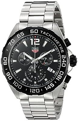 TAG Heuer Formula 1cronógrafo negro Dial Mens Reloj caz1010. ba0842