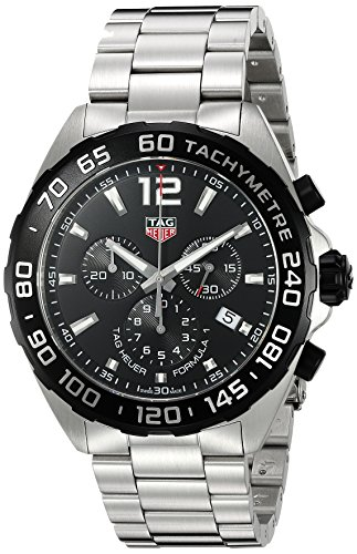 TAG Heuer Men's Formula-1 43mm Steel Case Swiss Quartz Watch CAZ1010.BA0842