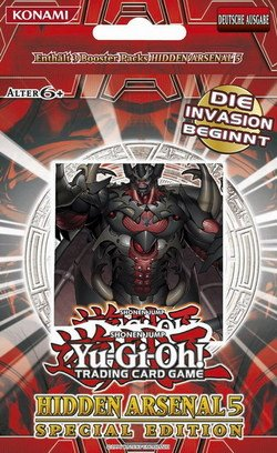 Konami KON24366 - Yu-Gi-Oh Hidden Arsenal 5 Special Edition Display, 10 Stück -