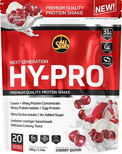 All Stars Hy-Pro Protein, Kirsch-Quark, 1er Pack (1 x 500 g)
