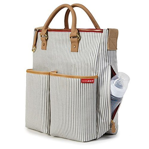 Skip Hop Duo Special Edition Changing Bag – French Stripe