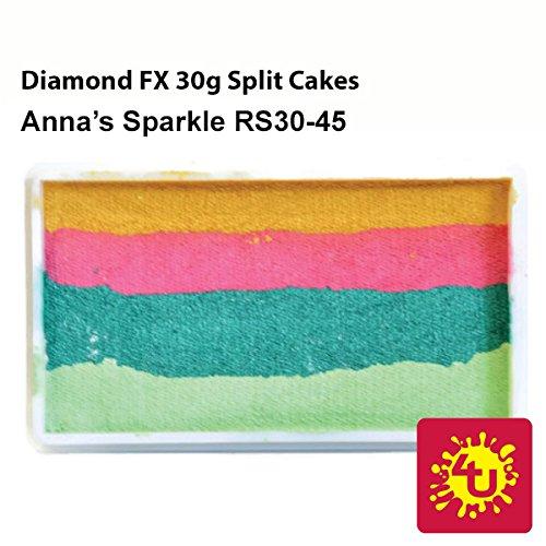 Diamond FX Custom Split Cake-28 gm-Anna's Sparkle RS30-45)