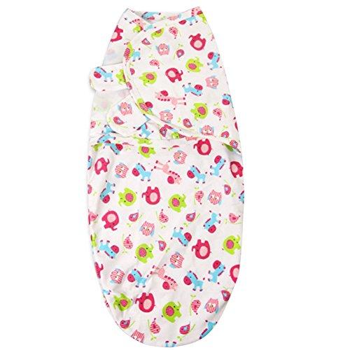 Miyanuby Baby Swaddle Wrap Swaddle Decke Unisex Baby Pucktuch Mädchen Junge Musselin Decke Baby Einstellbar Receiving Decken Baby Dusche Geschenk