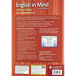 English in Mind for Spanish Speakers  1 Student's Book with DVD-ROM