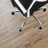 Tapis protège-sol Office Marshal NEO pour parquets, stratifiés | 9 tailles | transparent en vinyle | épaisseur env. 1,5mm | 75x120cm