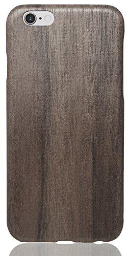 pitaka iPhone 6 Plus/iPhone 6s Plus Hülle [Aramidkern Holz Serie] Ultra Schlanke Schutzhülle aus Natürlichem Holz für iPhone 6 Plus/iPhone 6s Plus (5,5 Zoll), Nussbaum -