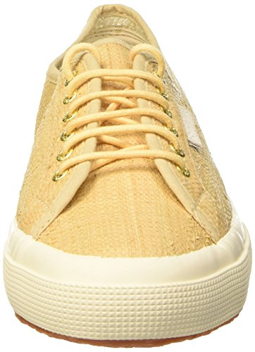 Superga 2750-Raffiau, Scarpe Low-Top Unisex Adulto Beige (White Natural)