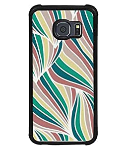 PrintVisa Designer Back Case Cover for Samsung Galaxy S6 Edge+ :: Samsung Galaxy S6 Edge Plus :: Samsung Galaxy S6 Edge+ G928G :: Samsung Galaxy S6 Edge+ G928F G928T G928A G928I (Abstract Art Backdrop Curly Bright Colorful Beautiful Concept)