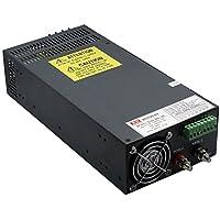 NuNus Power Supply 24V DC 33A 800W per stampante, striscia led 24V DC universale regolamentata parti 3D Uscita per telecamera a circuito chiuso per la Radio Computer progetto Display LCD, Reprap