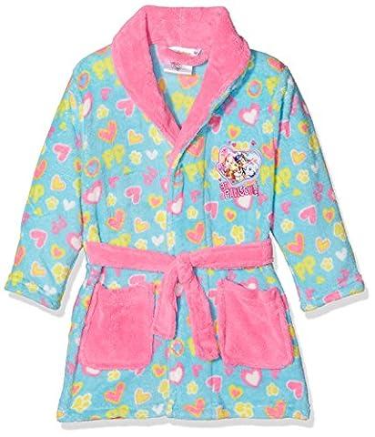 Nickelodeon Paw Patrol Pp Hearts, Robe de Chambre Fille, Bleu, 5-6 Ans