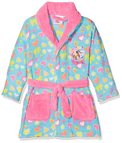 Nickelodeon Girl's Paw Patrol Hearts Dressing Gown