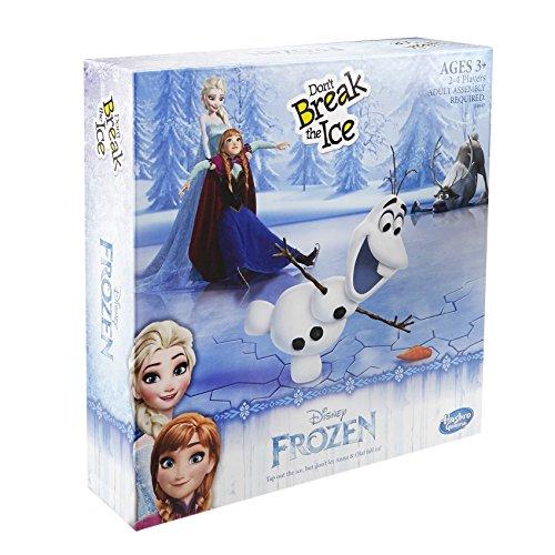 Hasbro Spiel B4643100 - Disney Die Eiskönigin, Der gefrorene See, Kinderspiel (Gefroren Hats)