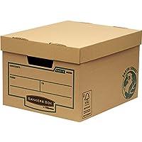 Bankers Box Earth Series - Gran contenedor de archivos, marrón