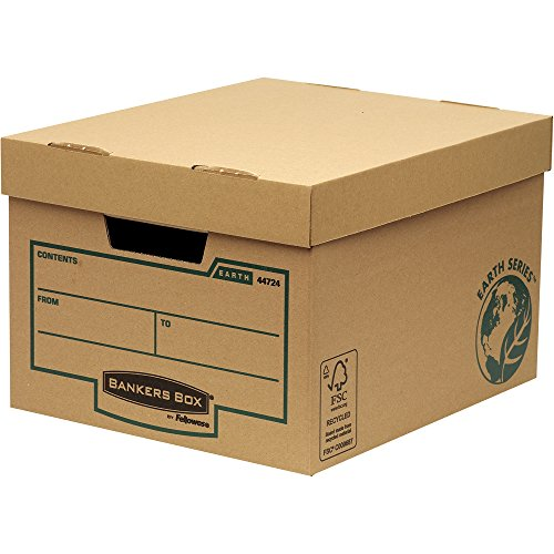 Bankers Box Earth Series Standard Archivbox (100% recycled) 10 Stück braun