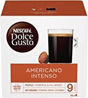 NESCAFE Dolce Gusto Americano Intenso Coffee Pods, Pack of 3