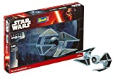 Revell- Star Wars Tie Interceptor. Kit modele, Escala 1:90...