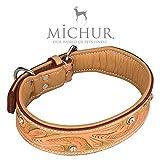 MICHUR Goldeneye, Hundehalsband, Lederhalsband - 3