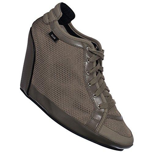 Adidas SLVR Clima Wedge Damen Schuhe G51875 beige, 38 EU,  G51875 (Schuhe Clima Adidas)