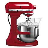 KitchenAid 5KPM5EER Küchenmaschine Heavy Duty empire rot