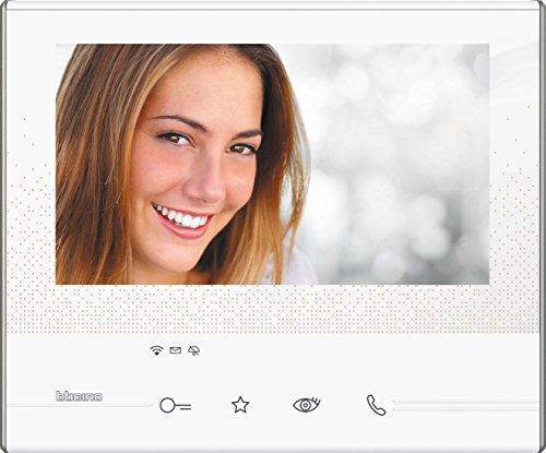 BTicino 344642 Videocitofono Classe 300 X13E con WiFi, Bianco