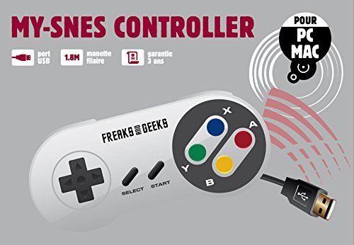 Freeks and Greeks Compatible USB Controller Super Nintendo to Play on your Computer and MAC (Electronic Games/Nintendo 3DS)