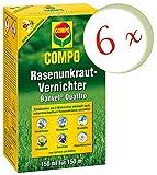Oleanderhof® Sparset: 6 x COMPO Rasenunkraut-Vernichter Banvel® Quattro, 150 ml + gratis Oleanderhof Flyer