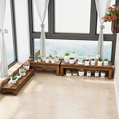 Support à Plantes en Bambou Pot De Fleur PréSentoir éChelle Jardin ExtéRieur, PréSentoir en Bois à éChelle VéGéTale - DifféRentes Tailles - Marches à Fleurs
